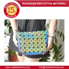 Mini cube rainbow reflective bag for fashion wowen