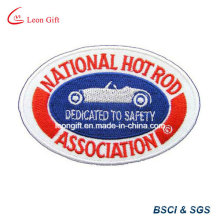 Embossed Custom Logo Embroidery Pin Embroideried Lapel