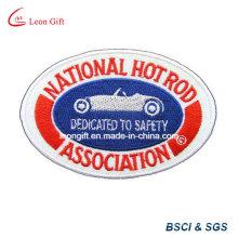 Logotipo gravado personalizado bordado Pin de lapela Embroideried