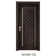 Faible qualité Excellente qualité Hotsale porte en mélamine (WX-ME-102)