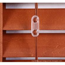 Window Decoration 50mm Basswood Horizontal Window Blind Component