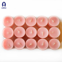 2017 wholesale flameless and scented coloful tealight candle