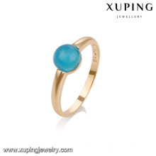 14739 Xuping new designed fashion gold plated women rings with red gemstone