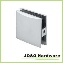 Wall to Glass Square Brass Shower Clip (BC401)