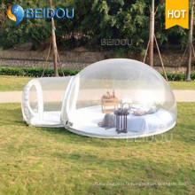 Boîte à bulles gonflable pour le marché du Gazebo gonflable