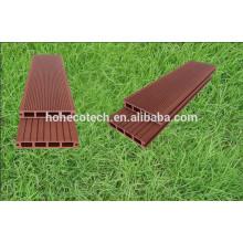 Piso compuesto plástico de madera de las plataformas del WPC de 140 * 25m m Ipe Decking
