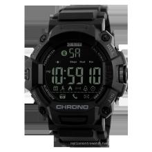 SKMEI 1249 Men Sport Smart Watch Multi-Functions Chronograph Waterproof Outdoor Calories Digital Blue tooth Wrist Watches