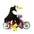 plush cartoon animal penguin