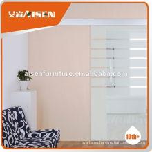 Calidad Garantía de fábrica directamente residenciales de aluminio puertas de doble entrada