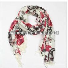 Модный рисунок шерстяного шарфа