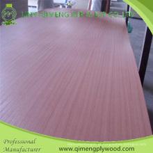 Forneça a madeira compensada de Sapele da categoria do AAA com boa cor e grão