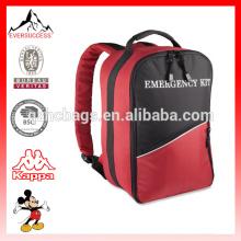 Sac médical de sac à dos de sac de secours de polyester de sac de kit de premiers secours durable