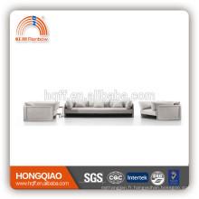 Le sofa en cuir véritable professionnel de bas prix a placé avec le certificat de la CE