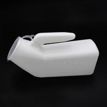 Orinal portátil de plástico blanco