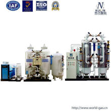 Air Separation Plant with Purifying by Carbon
