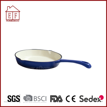 Blue Round Men Gang Skillet