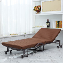 Venda quente Por Atacado Móveis Móveis de Metal Extra Berço Com Rodas Dobrável Sofá-cama