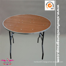 Made from SinoFur Wood banquet folding table