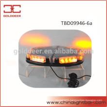 24W Truck Car Amber LED Warning Light Mini Light Bar (TBD09946-6a)