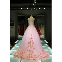 1A416 comerciante hada flores estilo chino personalizar rebordear vestidos de noche Alibaba