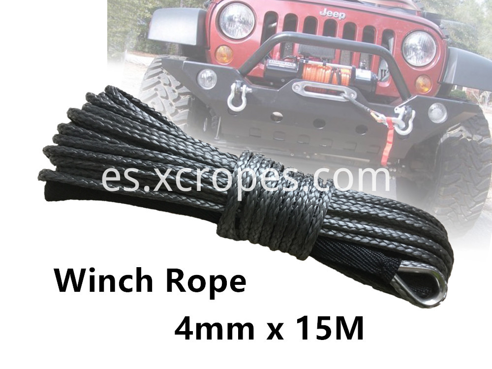 4mm X 15m 01 Winch Rope
