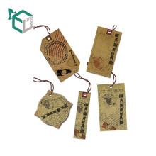 Тег OEM бумажный карга для одежды