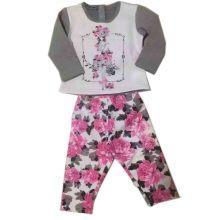 Pijamas de bebé en ropa de deporte para niños Sq-17108