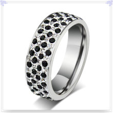 Lady Fashion Stainless Steel Jewelry Finger Ring (SR128)
