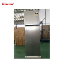 Réfrigérateur de réfrigérateur de compresseur sans givre d'acier inoxydable de bâti supérieur