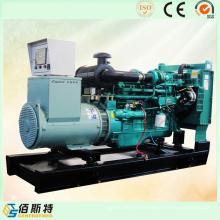 China Marca 90kw diesel conducido generador eléctrico conjunto