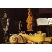 Pintura al óleo abstracta de la lona para la sala de estar