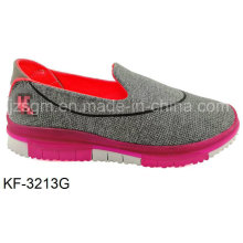 Simple Casual Flat Sports Shoes with EVA Sole