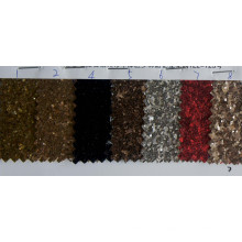 Tejido de papel pintado multicolor decorativo del brillo