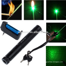 532nm-10-Mile-5mw-303-Green Laser Pointer Lazer Pen Beam Light-18650-Charger 532nm-10-Mile-5mw-303