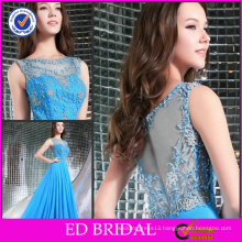 Great New Fashion Style A-line Sleeveless Embroidery Evening Dinner Dresses ED-YH222