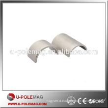 High Performance Zn Coated Segment Magnet N30EH