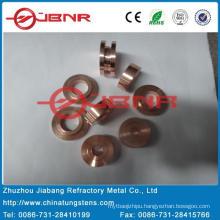 Tungsten Contact Tip W50cu50 with ISO9001 From Zhuzhou Jiabang
