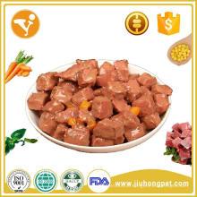 Melhor qualidade de tipo de alimento para animais de estimação e aplicação de cachorro Carne molhada / sabor de frango / atum Comida para cães Comida de gato