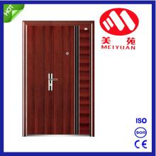 Son-Mother Steel Door with Simpale Design