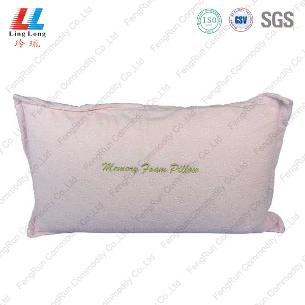 long pink pillow