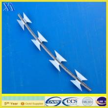 PVC Coated Bto-22 Galvanized Razor Wire (XA-RW016)