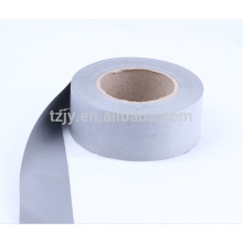 silver reflective polyester coated fabric