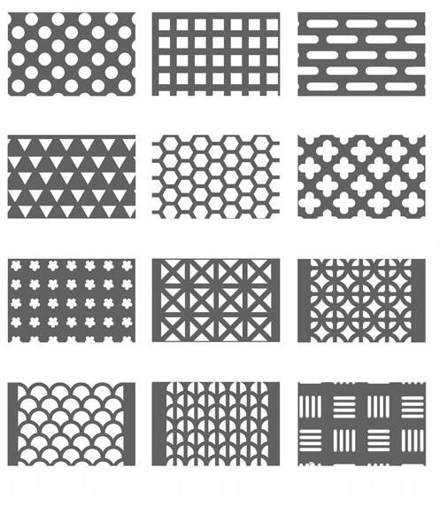 perforated sheet hole type