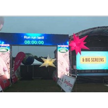Full Color Slim Light Weight Rental LED Screen