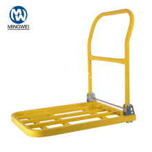 Carro de plataforma plegable de metal