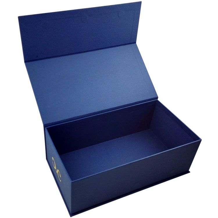 High-end Cardboard Hot Stamping Logo Male Shoe Box