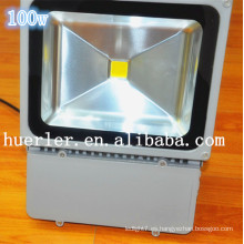 Shenzhen precio directo impermeable 12-24v 12v 24v ip65 solar accionó la iluminación de la porción de estacionamiento 100w