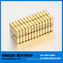 N40uh Block Magnets with Vacuum Packing