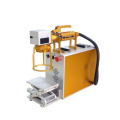 Mini Fiber Laser Marking Machine untuk Bamboo / Stainless Steel