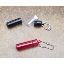 Promotion Gift Hard Aluminum Pill Holder